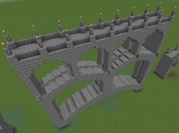 Multi-Arch stone bridge Minecraft Map & Project