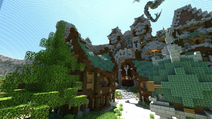 Abthena a Survival Games Map