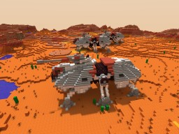 AT TE Walker STAR WARS Minecraft Project