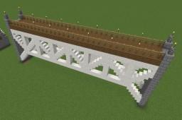 Inverted Warren Truss Bridge Minecraft Map & Project