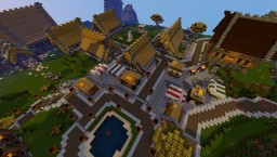 Village Minecraft Map & Project