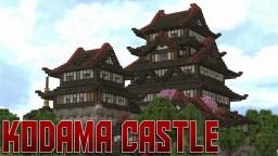 Japanese Castle [Kodama] Minecraft Project