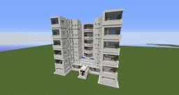 [Schematic] 5 Floor Hotel Minecraft Map & Project