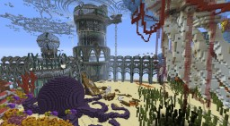Craskish, The Akkadian Undersea Citadel Minecraft Map & Project