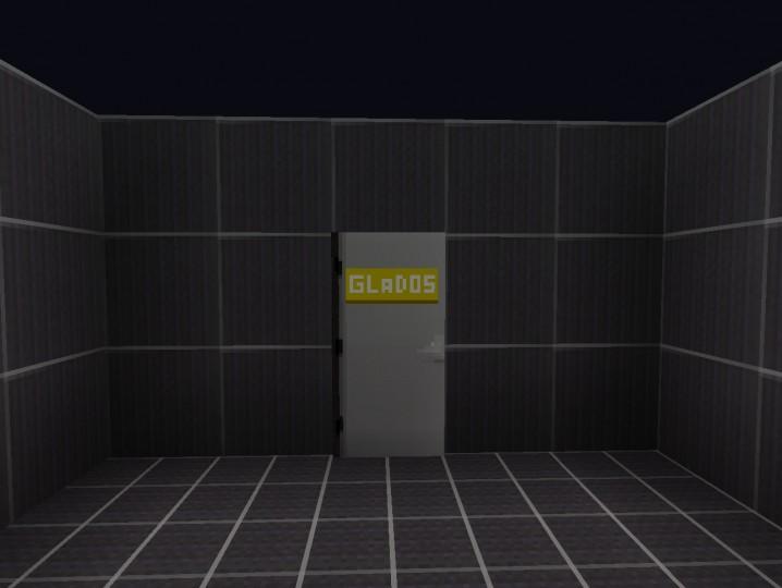Fake GLaDOS Door!