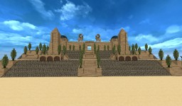Temple Mount Minecraft Map & Project