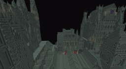 Bloodborne inspired city Minecraft Map & Project