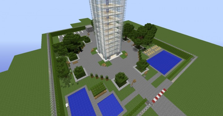 Sky Tower Minecraft Project