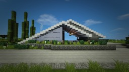 """Elevation"" - A Modern Concept House Minecraft"
