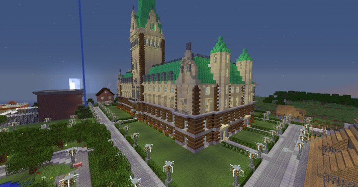 shatterblox towny server spawn minecraft project