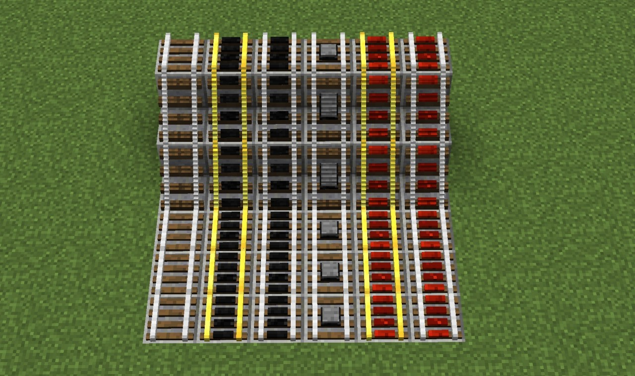 how to make all the rails in minecraft