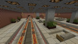 Fully Automatic Train Station with Cargo + DOWNLOAD Minecraft