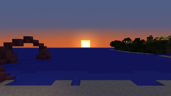 Sunset at Beach