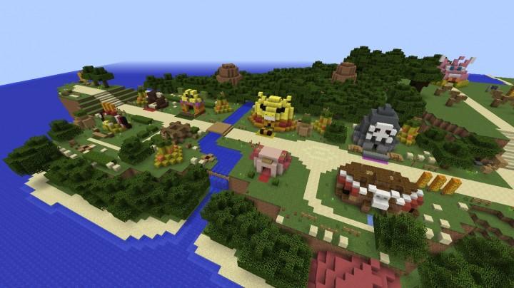 Pokemon Mystery Dungeon Minecraft Map