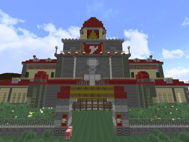 Fairy Tail Guild Hall (WIP) Minecraft Project