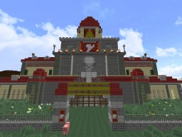 Fairy Tail Guild Hall (WIP) Minecraft Map & Project