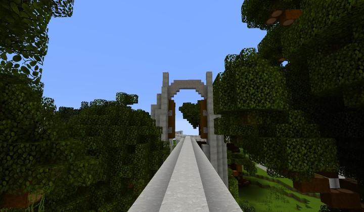 Jurassic World Minecraft Project