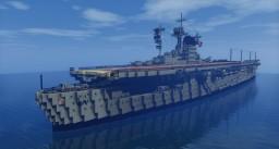 German Aircraft Carrier: Graf Zeppelin Minecraft Map & Project