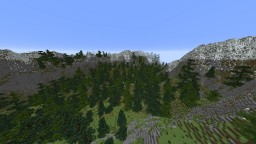 1000X1000 mountain/pine forest Minecraft Map & Project
