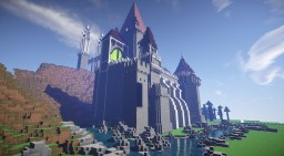 Fantasy Castle for an RPG Minecraft Map & Project