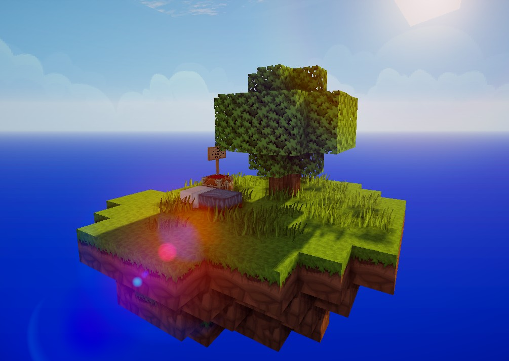 SkyblockMap Für Spieler Minecraft Project - Minecraft skyblock spielen