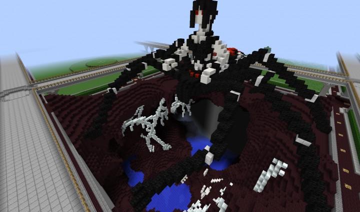 Spider Statue Minecraft Spider Queen St...
