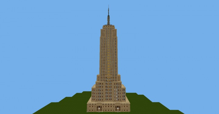 empire state building von sirius gaming minecraft project. Black Bedroom Furniture Sets. Home Design Ideas