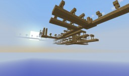 Abandoned Sky Shaft Minecraft Map & Project