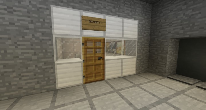 Scp Secure Contain Protect Facility Minecraft Project