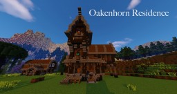 Oakenhorn Residence [MEDIEVAL DESIGN] Minecraft