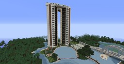 Blue Water City Minecraft Map & Project