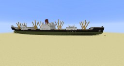 Cargo Ship - SS Burgas Minecraft Map & Project