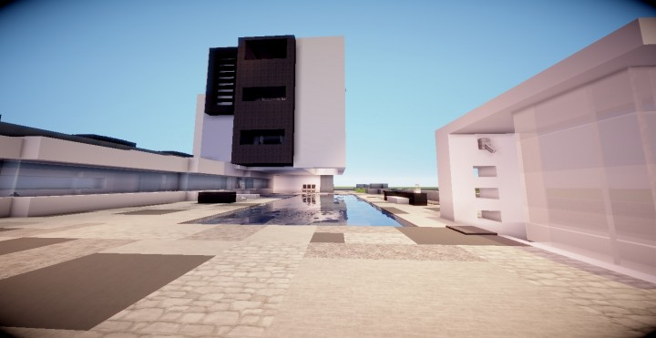 Appartement moderne minecraft project for Appartement moderne