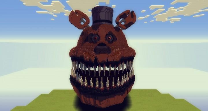 Organics] FNAF 4: Fredbear Animatronic Minecraft Project