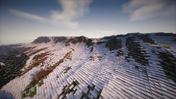 4K Realistic Terrain Minecraft Map & Project