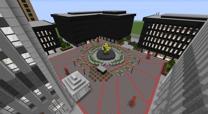World Trade Center Plaza.