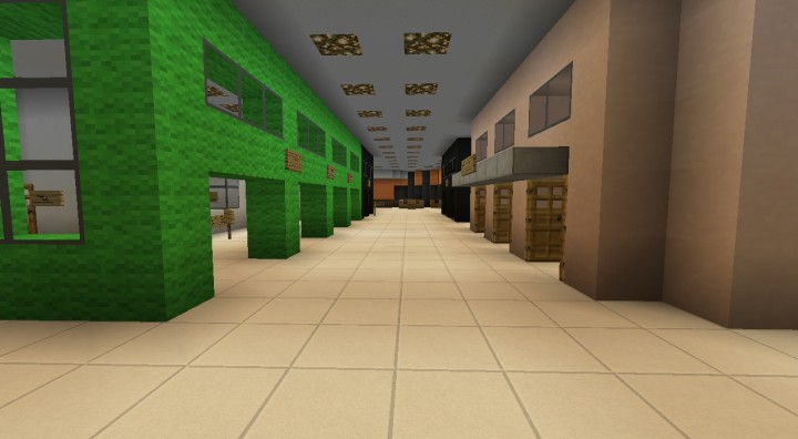 Some of the shops at the World Trade Center, based off of various maps of the original site.