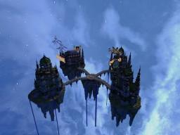 4 Island Server Hub Minecraft Map & Project