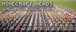 Minecraft Custom Heads (Player Heads, Custom Heads, 1700+) Minecraft Project