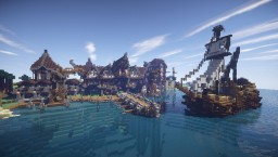 Eyrarfell - A Medieval City Minecraft Project