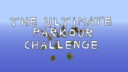 The ultimate parkour challenge v1.0