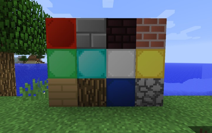 blocks9226602 [1.9.4/1.8.9] [32x] Simplistic (and 3D) Texture Pack Download