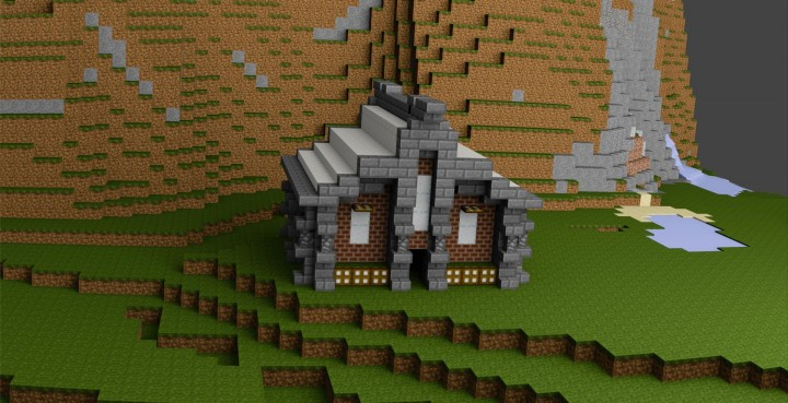 Project Etherlas Small House Design Minecraft Map