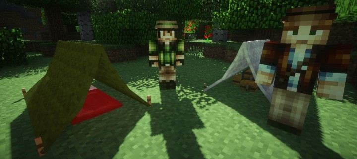 Note! ShaderMod is used for taking the Preview Images.