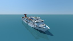 Carnival Ecstasy Cruise Ship (full Interior) Minecraft Map & Project