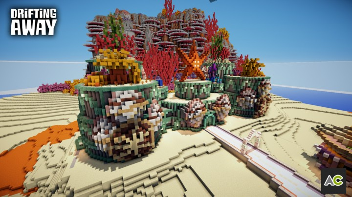 The prismarine castle