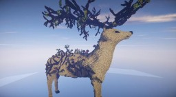 The deer elfic - My first project Minecraft Project