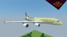 Airbus A380-800 Etihad Airways [+Download] Minecraft Map & Project