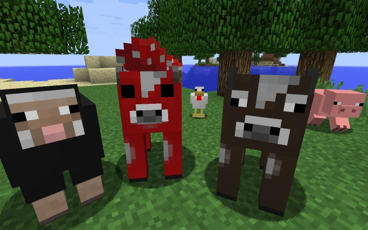 farmmobs9226644 [1.9.4/1.8.9] [32x] Simplistic (and 3D) Texture Pack Download