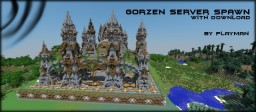 Gorzen factions server spawn with download Minecraft Map & Project